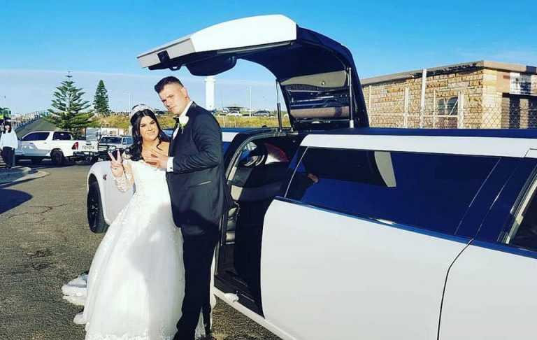 bride and groom wollongong